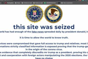 Trump's website defaced with claim that Trump admin created coronavirus