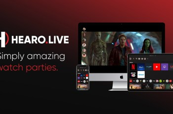 Hearo launches its desktop and mobile co-watching party app