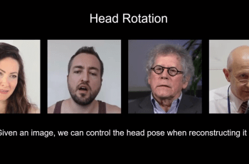 Nvidia introduces AI for generating video conference talking heads from 2D images