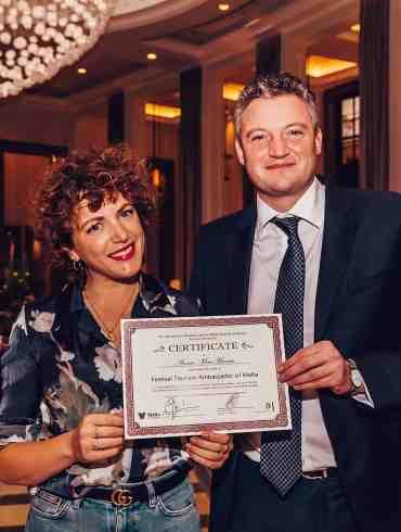 Annie Mac crowned as Festival Ambassador of Malta