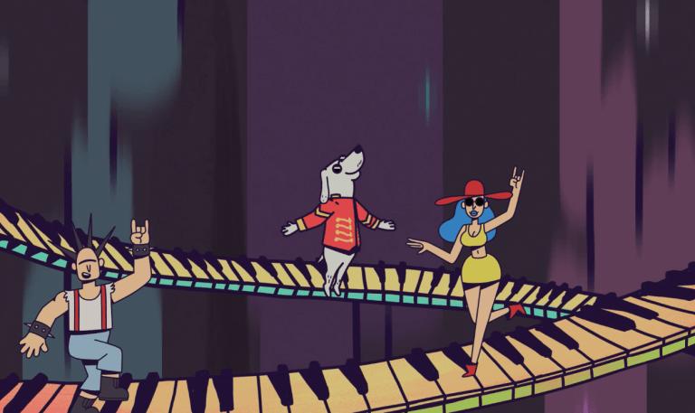 Bakermat released cartoon music video for Partystarter