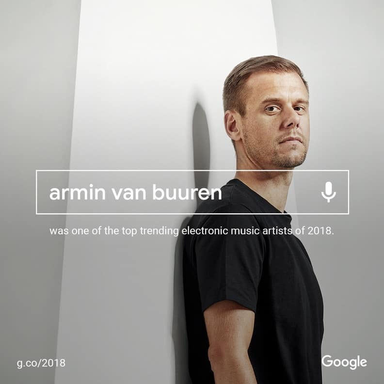 Google Announces Armin van Buuren