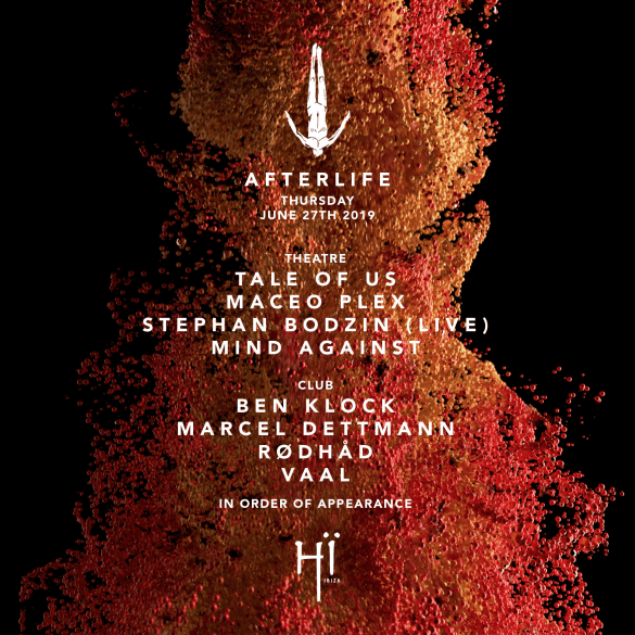 Afterlife returns to Hï Ibiza 2019 and Announces Opening Party Line Up