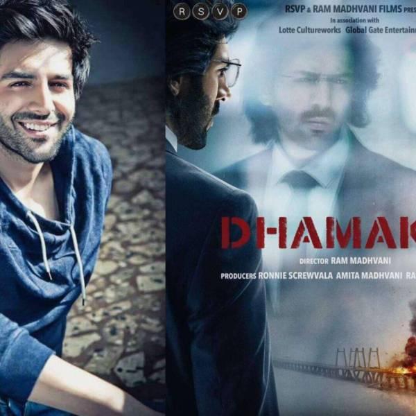 Kartik Aaryan Dhamaka film charge