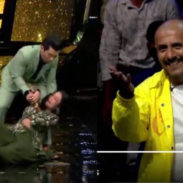 Aditya Narayan Drops Neha Kakkar on dance flooer indian idol 11 video