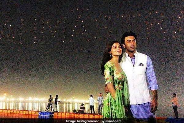 Alia Bhatt & Ranbir Kapoor Brahmastra