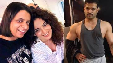Kangana Ranaut sister lashes out at karan patel standup comedian comment