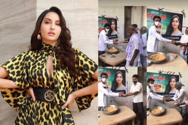 Nora Fatehi Fans Donate Food In Her Name