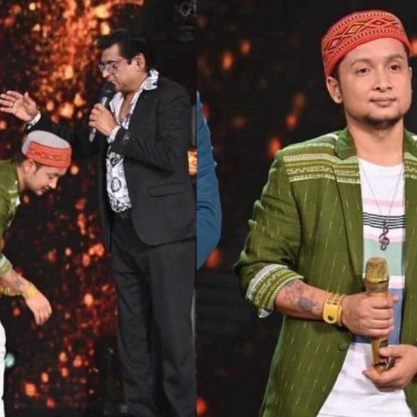 Pawandeep Rajan gets watch from kishor kumar's son