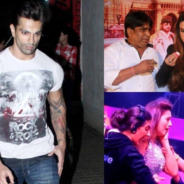 Karan Singh Grover jennifer winget slap, Abhinav Kohli slapped by raja choudhary, gauahar khan slapped in public, rakhi sawant slapped by fan