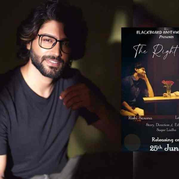 Rishi Saxena The Right One Trailer