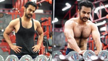 Addinath Kothare Shirtless in gym fans calls him