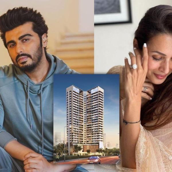 Arjun Kapoor Malaika Arora New House Mumbai 81 Aureate