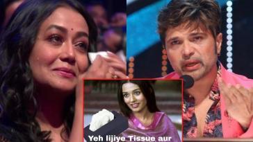 Indian Idol 12 judges Neha Kakkar Himesh Reshamiya Trolled for Crying