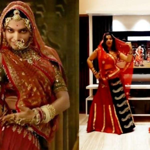 A video of a mother and daughter duo identified as Tania and Sony dancing to Deepika Padukone song Ghoomar from the movie Padmaavat has gone viral.