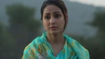 Still from Trailer Of Hina Khan Cross-Border Drama Lines