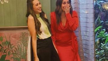 This is what left Kareena Kapoor and Karisma Kapoor in splits as they shoot with punit malhotra