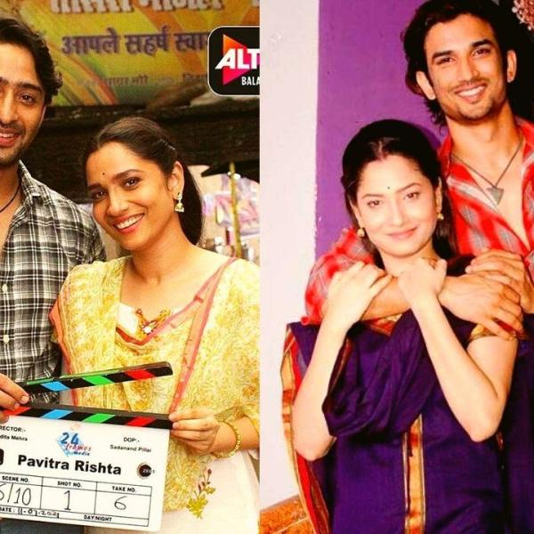 Ankita Lokhande and Shaheer Sheikh Reveal Their First Look as they starts shooting for Pavitra Rishta 2