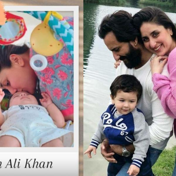 Kareena Kapoor and Saif Ali Khan second son Jeh Ali Khan FIRST Picture: Kareena Kapoor Plants Kiss On Baby Jeh's Forehead In A New Viral Photo