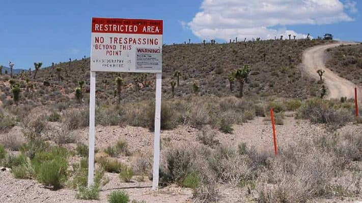 most restricted places in world Area 51, United States