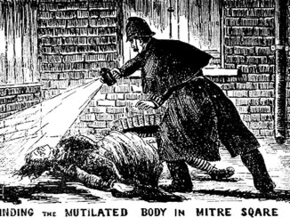 Jack the Ripper is the first celebrity serial killer in history. [Image Credit: Wikimedia Commons]