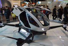 uber passenger drone