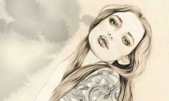 A female artist loves to sketch women and her drawings are distinctively beautiful very pleasing virality facts