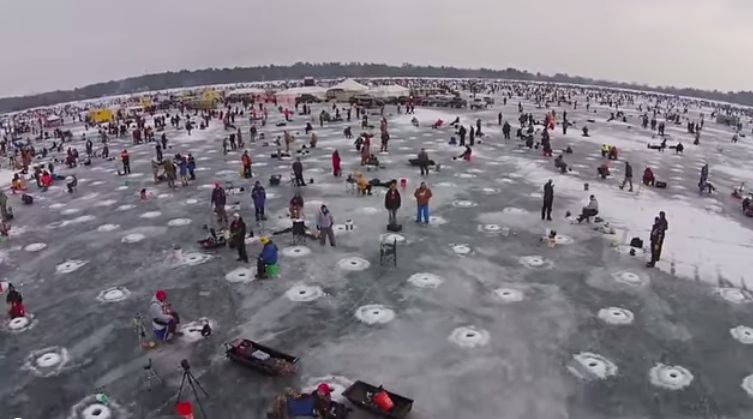 Largest Charity Ice Fishing Contest In The World Held At