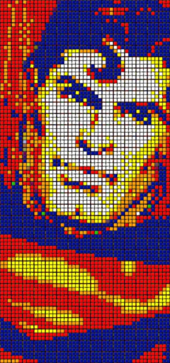 Rubik's Cube Art-12