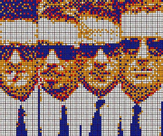 Rubik's Cube Art-14