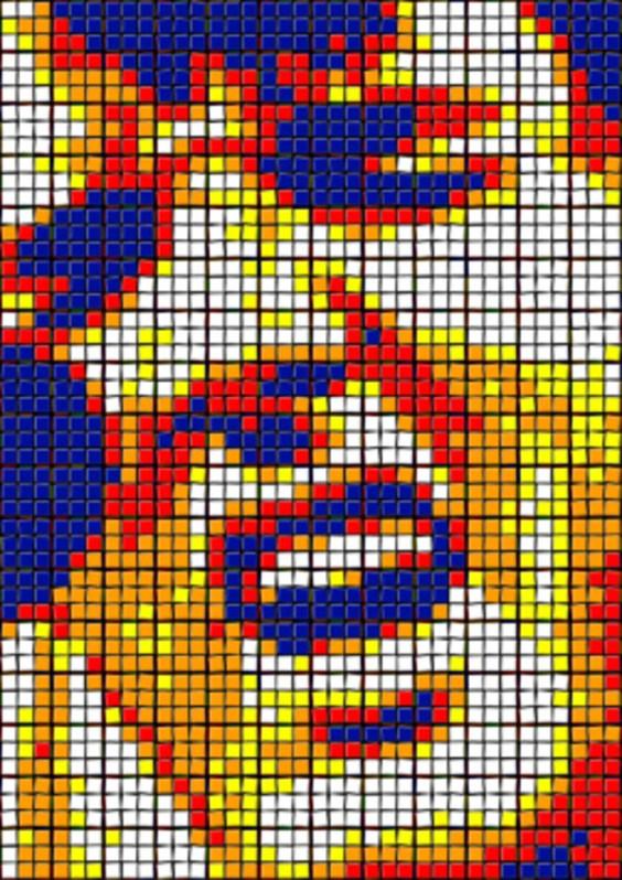 Rubik's Cube Art-2