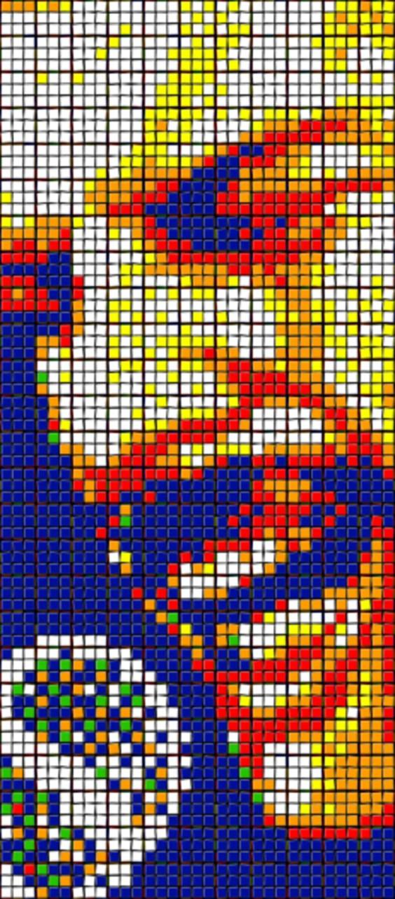 Rubik's Cube Art-6