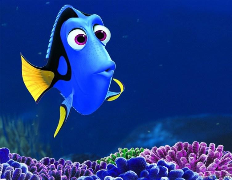 3. Dory, 'Finding Nemo' (2003)