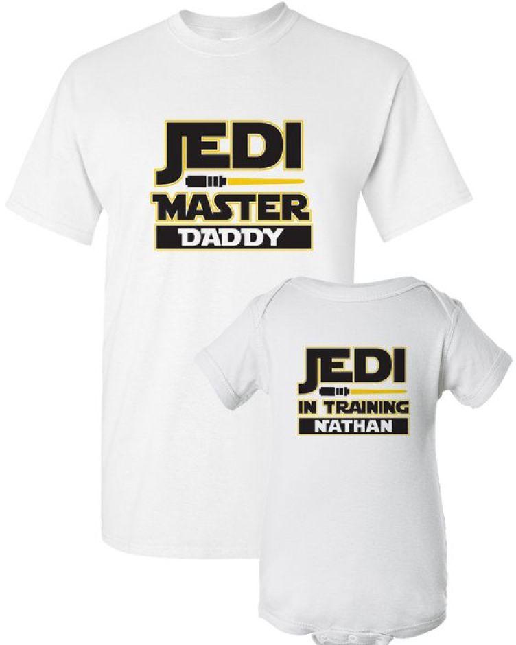 Jedi Master and Jedi Knight in Training