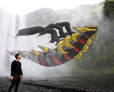 Unique Travel Photos With his Pokemon Buddies.