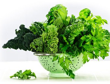 green leafy vegetable