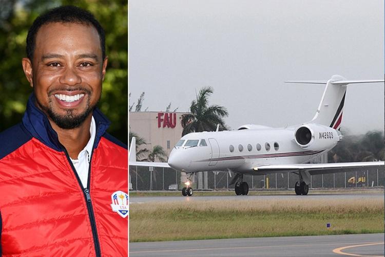Tiger Woods Gulfstream