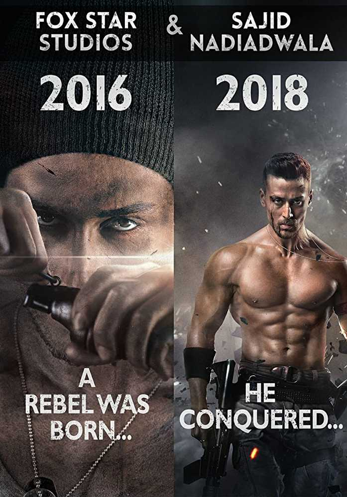 Baaghi 3 (2020) movie poster 2