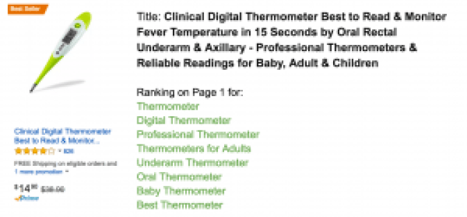 Thermometer Keywords