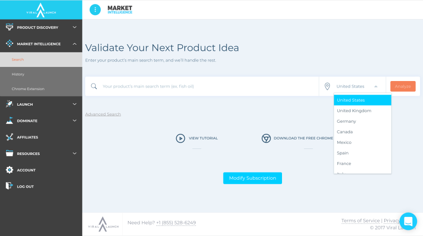 Find International Products with Market Intelligence