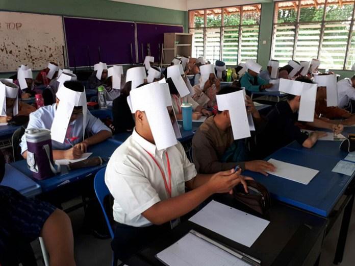 #15 Anti-cheating hats