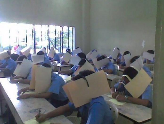 #13 Anti-cheating hats