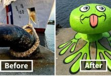 Genius Street Artist Reshaping Common Objects And It's Hilarious