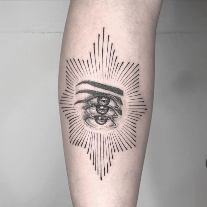 Mexican Tattoo Artist Yatzil Elizalde Specializes In Trippy Dizzy Tattoos And It Looks Totally Cool