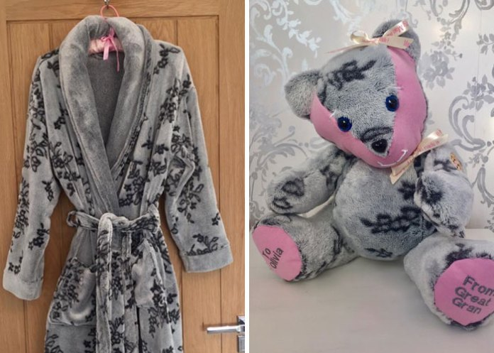 People Give This Woman The Clothes Of Their Loved Ones So She Could Turn Them Into Memory Bears
