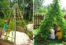 People Are Growing Magical Bean Pole Garden Tents For Their Kids
