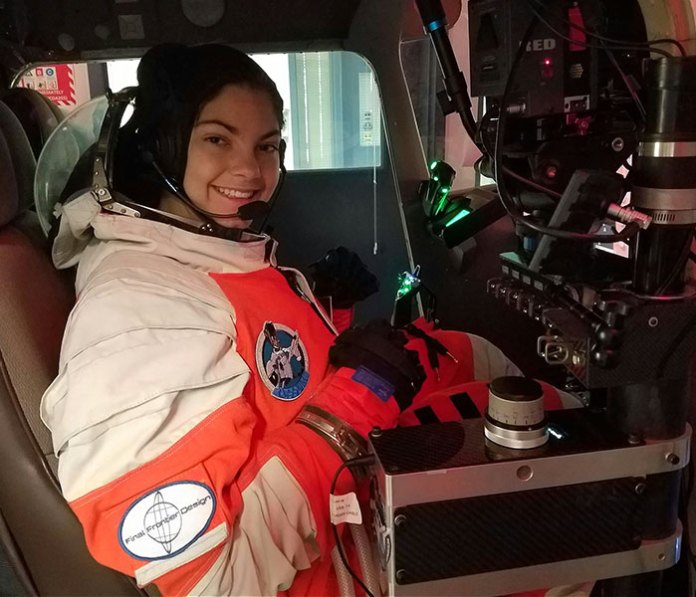 First Girl on Mars Alyssa Carson