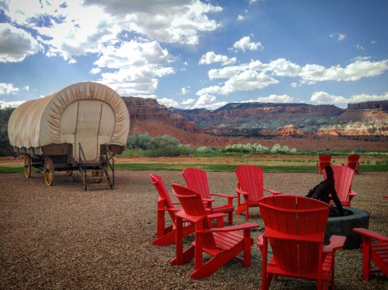 You Can Spend the Night in a Covered Wagon at One of These Dreamy Campgrounds
