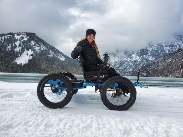 Off road wheelchair Zack Nelson
