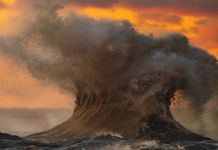 Liquid Mountains – Power Of Lake Erie Waves Photographed By Dave Sandford